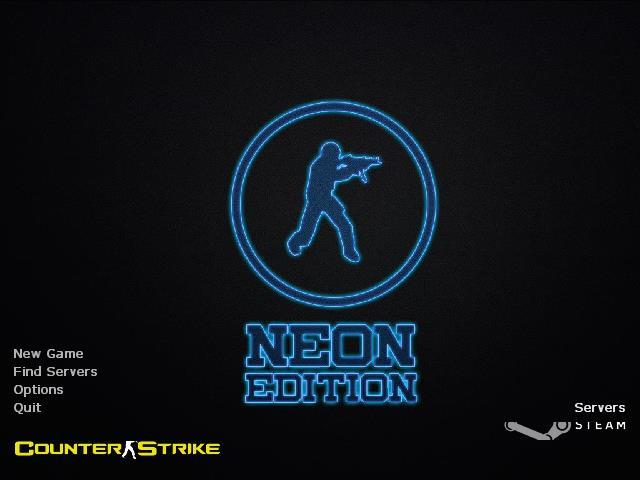 Counter-Strike 1.6 Neon